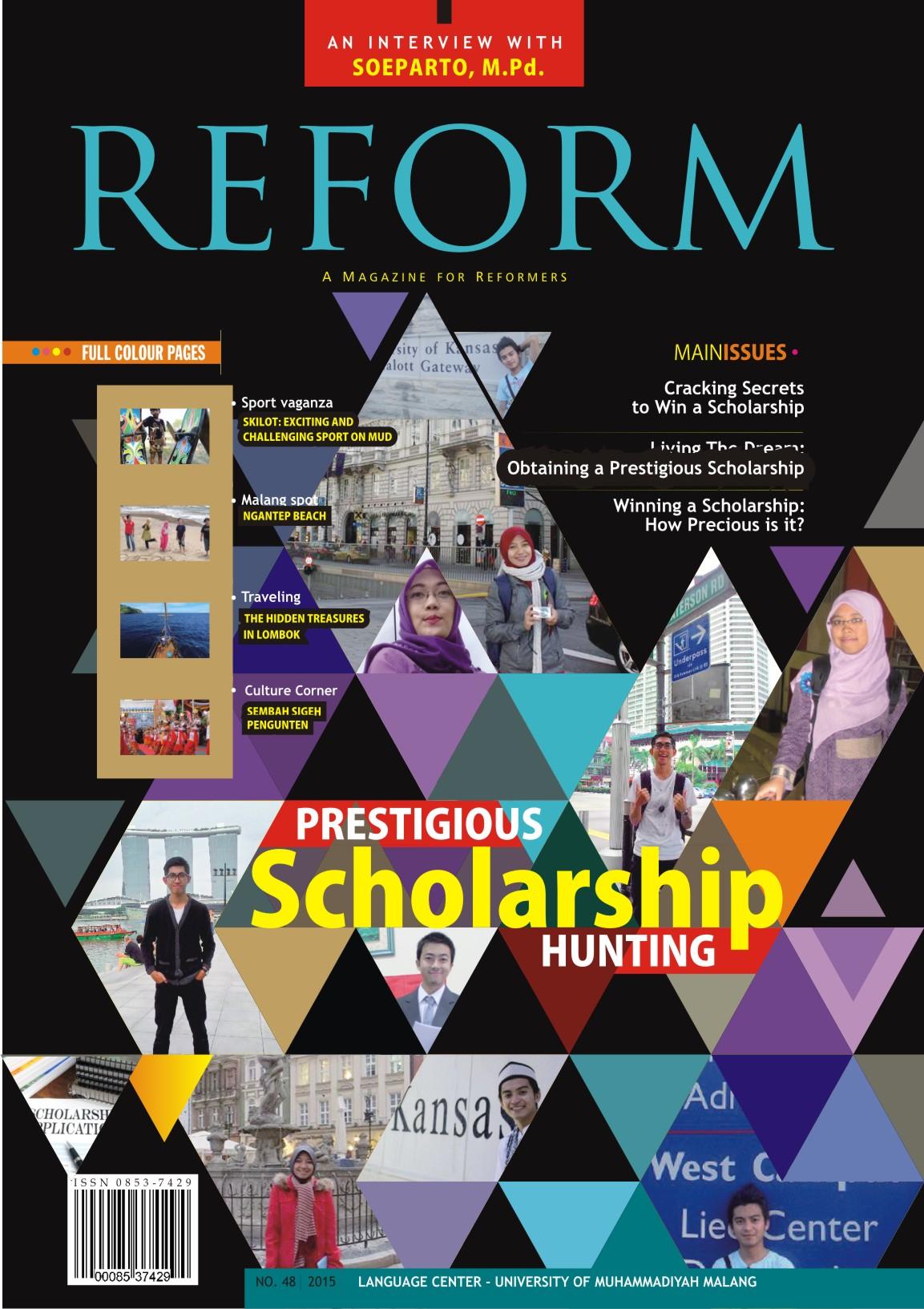 Prestigious scholarship Hunting